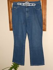 Lee relaxed bootcut jeans, indigo medium wash - Size 14 short