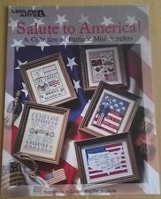 Salute to America Samplers Cross Stitch pattern by Leisure Arts