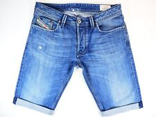 Diesel Larkee Jeans * Diesel Denim Shorts W32 Excellent Condition 008XR 32W *