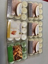 6 Packs Of Tea Lights Various Scents