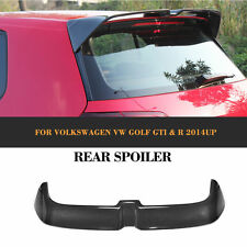Carbon Fiber Rear Trunk Spoiler Roof Wing Fit For VW GOLF VII 7 GTI O Style