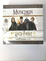 USAopoly Munchkin Deluxe Harry Potter Card Game- NEW SEALED!