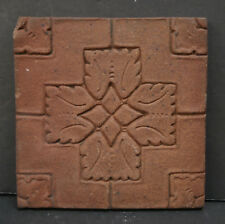 Batchelder Unglazed Relief Tile Vintage California