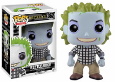 FUNKO POP BEETLEJUICE Check Shirt Limited Pop Movies Figure Tim Burton Film