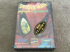 Sega Master System | Spider-man Return Of The Sinister Six | Brand New Sealed