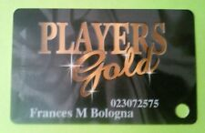 BOYD GAMING LAS VEGAS, NEVADA PLAYERS GOLD SLOT CARD GREAT FOR ANY COLLECTION!