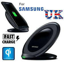 For Samsung Galaxy S8 S6 S7 Edge Wireless Charger Qi Fast Charging Pad Stand