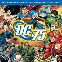 THE MUSIC OF DC COMICS:75TH ANNIVERSARY COLL. CD NEW