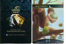 x1 Squirrel jeton/token FOIL NM | altered art promo-jeton English MAGIC MTG ★★★