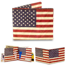 Dynomighty STARS AND STRIPES bifold MIGHTY WALLET tyvek AMERICAN FLAG OLD GLORY