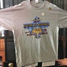 Vintage Size XX LARG San Francisco Giants T-shirt MLB Baseball 2002 World Series