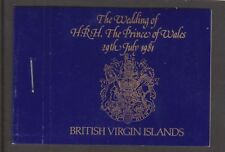 1981 Royal Wedding Charles & Diana MNH Stamp Booklet British Virgin Islands