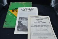 2Vtg Plumbing Catalogs-1938MUELLER Co/Decatur,ILL&MYERS Water Systems/Ashland,Oh