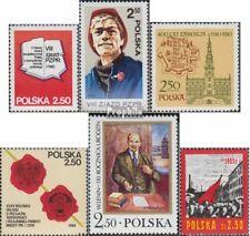 Polen 2672-2673,2679,2681,2682,2683 (compleet Kwestie) gestempeld 1980 Feestje,