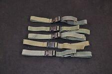 Lot of 5 USGI Alice Field Pack Sternum Straps, Issued, OD Green