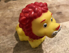 New listing 3� yellow lion Rubber Bath Toy