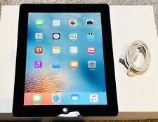 "Apple iPad 3rd Gen. 64GB, Wi-Fi + Cellular Unlocked, Black,Good Condition, 9.7"""