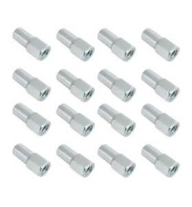 16x Wheel Nuts, Fits Group 4 Escort, M12x1.5mm 60 deg Taper Chrome Plated - SN39