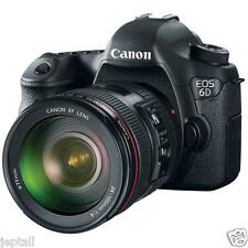 "Canon EOS 6D 24-105mm 20.2mp 3"" DSLR Digital Camera Brand New Jeptall"