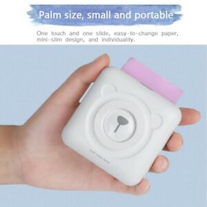 PeriPage Mini Pocket Wireless BT Thermal Printer / 57*30mm Thermal Paper Roll AU