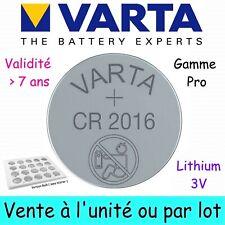VARTA CR2016 3V Pile Bouton Lithium