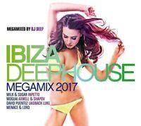 IBIZA DEEPHOUSE-MEGAMIX 2017  3 CD NEW