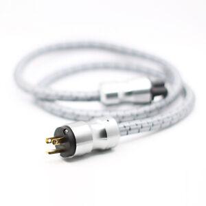 HI-End CRYO-156 US Schuko Power cord HIFI US AC Audiophile Power cable