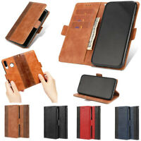 For Huawei P20 lite Pro P30 Phone Case Wallet Magnetic Flip Stand Leather Cover