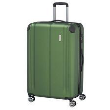 Travelite City 4w verde 77cm 124l 4 RAD trolley viaje maleta equipaje ampliable