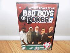 World Poker Tour - Bad Boys of Poker (DVD, 2005) BRAND NEW, SEALED