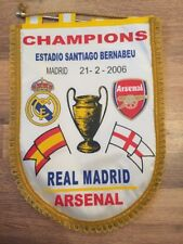 Pennant: Real Madrid V Arsenal 21/02/06 Champions League