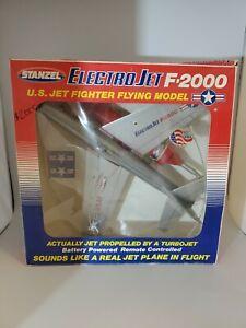 Vintage Stanzel Electromic ELECTRO JET F-2000-Turbojet~Battery Powered