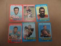 1971 Topps Football_6 Card Starter Set