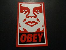 """SHEPARD FAIREY Obey Giant Sticker 2.5X3.75"""" RedBlaWhi Andre OG from poster print"""