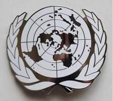 Military UN United Nations Peace Keeping Beret Cap hat Metal Pin Badge - US073