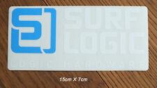 Surf Logic Longboard Board Freeride Wheels Aufkleber Sticker Adesivo (S068)
