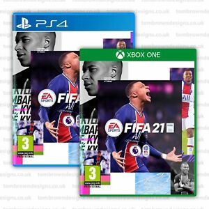 FIFA 21 Cover - Kylian Mbappé Cover for XBOX PS4 - FIFA Standard Edition - PSG