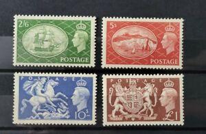 GB KING GEORGE VI 1951 SG 509 TO 512 SET U/MINT