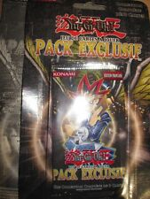 YU-GI-OH! INTROUVABLE BOOSTER EXCLUSIF SOUS BLISTER 3 SPHINX FRANCAIS 1996 RARE