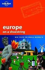 Europe on a Shoestring (Lonely Planet Shoestring Guides)-ExLibrary