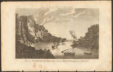 1779 ca ANTIQUE PRINT- GLOUCESTERSHIRE - ST VINCENT'S ROCK WITH THE HOT WELLS
