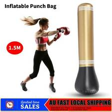 Kids Adult Punching Stand Bag 150cm Boxing Punch Bag Training Bump Inflatable AU
