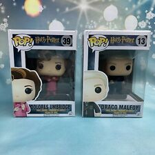 POP! Dolores Umbridge Draco Malfoy Harry Potter Funko Movies Vinyl Figure 39 13
