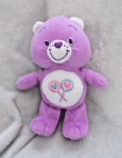 """Official Care Bears - Share Bear - Soft Plush Toy / Teddy - Approx 8"""" Tall"""