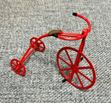 Byers' Choice Accessory Red Metal Tricycle, Perfect for your Byers' Display