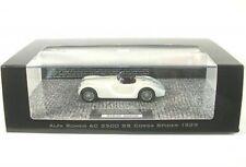 1 43 Minichamps Alfa Romeo 6c 2500 SS Corsa Spider 1939 White Ltd.