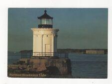 Portland Breakwater Lighthouse Maine Postcard USA 406a ^