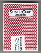 SILVER CLUB Hotel Casino Collectible Bee Playing Cards - Victorian Sq, Sparks Nv