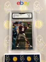 1996 Bowman's Best Steve Young #5 - 10 GEM MINT GMA Graded NFL Football Card