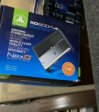 JL Audio Xd600/1v2 600w Monoblock Class D Subwoofer Amplifier NEW
